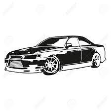 分離の車輸送レーシングカー手押し車モデル図面飾る運動は件名のスケッチのコスト横に車高