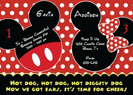mickey and minnie invitation templates mickey and minnie birthday invitations christmanista com