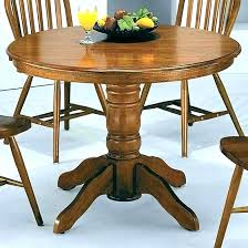round glass dining room table 42