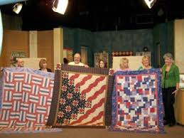 Stars and Stripes Quilt for QOV | Mark Lipinski's Blog & You see, I donated that pattern to Iowa Public Television. If you make a  pledge to support Iowa Public Television (something I feel very strongly  about) you ... Adamdwight.com