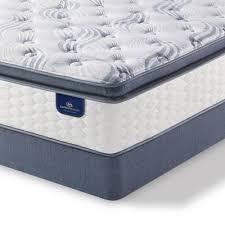 Serta Perfect Sleeper Willamette Super Pillow Top Twin Mattress Set
