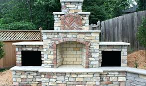 outdoor pizza oven fireplace build an insert interior stainless steel fireplace