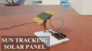Solar Panel Circuit Design Sun Tracking Solar Panel Project Using Microcontroller
