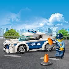Đồ Chơi Lego City Xe Tuần Tra Cảnh Sát 60239