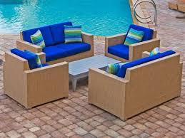 brown set patio source outdoor. Source Outdoor Furniture Lucaya Wrap Aluminum Lounge Set Brown Patio
