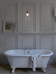 skinny ribbed ledbury glass bathroom pendant light