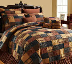 Country Bedding, Primitive Bedding, Country Style Quilts & Patriotic Patch Bedding, Quilt Americana Bedding Adamdwight.com