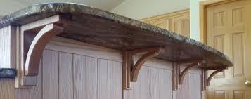 butcher block countertops countertop overhangs countertop overhang popular kitchen countertop ideas