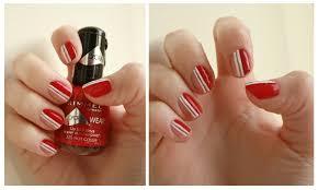 Red And White Nail Designs Nail Art Red And White Nail Arts