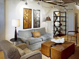furniture: Eclectic Furniture As Decorating Corners On Wooden Floor Under  Interesting Lighting For Living Room