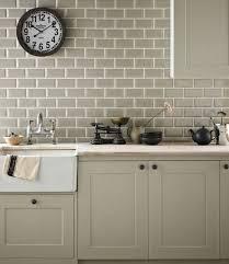 london bevelled sage green gloss metro bathroom kitchen wall tiles 10 x 20cm