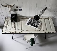 the new adventures in desk top design by the black work would repurpose an old door