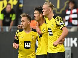 Dortmund have outstanding footballers and a good habit of getting a lot of them into the final third. Tqmjbxjup0dtcm