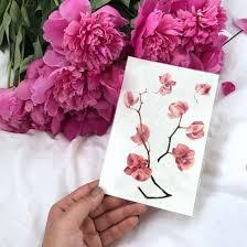 временная татуировка купить орхидея цветнаяя