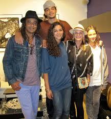 joakim noah wife. Wonderful Noah A Recent Photo Of The Complete Family With Yannick Joakim Elena And  Jenaye Noah Cecilia Rodhe And Joakim Wife