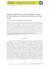 Pdf Shifting Constellations Of Actors And Their Influence