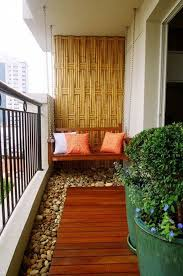 apartment patio ideas. Delighful Ideas Bamboo Inspired Walls Arenu0027t Only Great To Look At But They Also Help Make   For Apartment Patio Ideas T