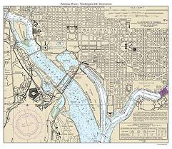 Potomac River Charts Amazon Com Washington Dc Downtown 2013 Nautical Chart