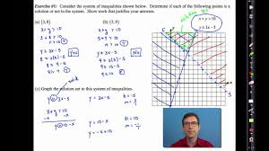 common core algebra i unit 5 lesson 7 solving systems of inequalities