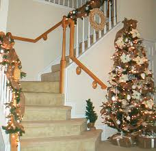 Image of: decorating for christmas with burlap