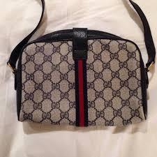 gucci vintage bags. gucci bags - vintage cross body bag