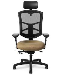 office master ys89 yes series ergonomic task chair with headrest