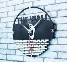 pink floyd the wall silent clocks for home decor wall clock 12 inch on pink floyd wall decor with pink floyd the wall silent clocks for home decor wall clock 12 inch