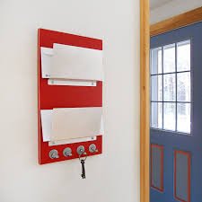 mail holder wall mount lollipop red wall mount mail letter holder organizer key rack wall mounted