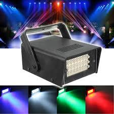 Strobe Light In Store Mini 10w Strobe Light 24 Led Stage Light For Dj Disco Haunted House Xmas Party Lamp