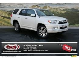 2013 Blizzard White Pearl Toyota 4Runner Limited 4x4 #71687737 ...