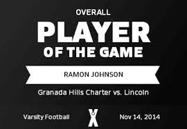 Ramon Johnson | GHC, Granada Hills, CA | MaxPreps