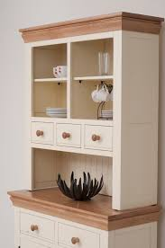 Co Kitchen Furniture Country Cottage Painted Funiture Cabinet Cream Welsh Dresser Oak