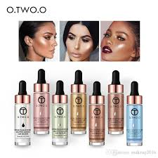new brand makeup o two o highlighter cream concealer shimmer face glow ultra concentrated illuminating bronzer drops face highlighter makeup reviews makeup