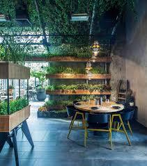 Segev Design Segev Kitchen Garden Restaurant In Israel Greens