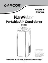 Amcor Air Conditioner Comp Light Amcor Ac 706am Owner S Manual Manualzz Com