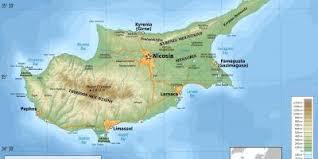 Republica turcă a ciprului de nord este recunoscută pe plan internațional doar de turcia. Cipru Hartă HărÈ›i Cipru Europa De Sud Europa