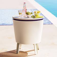 Beer Cooler Coffee Table Outdoor Side Table Beverage Cooler The Green Head