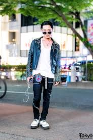 monochrome punk street style w 99 is the symbolic tokyo alexander george