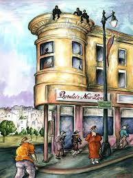 san francisco painting san francisco north beach watercolor art by peter potter