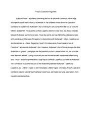 "short essay annabel lee grade ""annabel lee"" short essay  1 pages reading response freud castration"