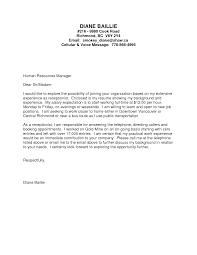 Resume Cover Letter No Job Experience Adriangatton Com