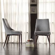 great grey fabric dining room chairs best ideas about fabric dining chairs on dining