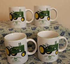 Explore agricultural, construction, forestry machinery, technology, services and more on the official john deere website. 4pc Gibson John Deere Tractor White Model A Tractor Coffee Mug Cup Lot 406876652