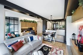 Open space home office Open Concept Open Plan Living Room In Loft Apartment With Black And White Decor Nonagonstyle The Hathor Legacy Tackling The Storage Space Problem In Loft Apartment Nonagonstyle