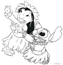 Lilo And Stitch Coloring Pages To Print Lilo And Stitch Coloring