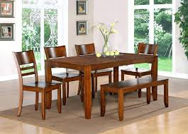 modern kitchen table with bench. Modern Dining Set With Bench Table And Chairs Kitchen A