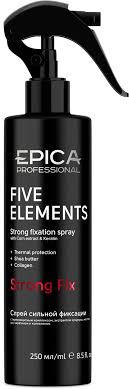 EPICA <b>Спрей сильной</b> фиксации Five elements с <b>термозащитным</b> ...