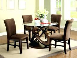 round glass and wood dining table glass dining table with wood base round glass dining table