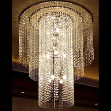 modern large size object crystal chandelier 10565