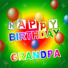 Check spelling or type a new query. Happy Birthday Grandpa Card As Surprise Greeting For Grandad Best Wishes To Grandfather 3d Illustration Stock Photo Picture And Royalty Free Image Image 116117029